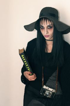 lydia deetz winona ryder in beetlejuice make up by kate eleanor r