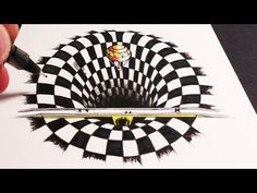 Learn How to Draw a 3D Anamorphic Hole in this Optical Illusion. Subscribe here for many more of my art videos: http://www.youtube.com/user/circlelinemedia W...
