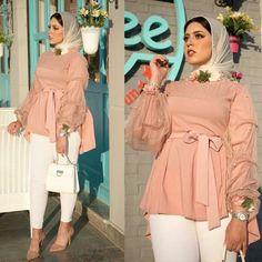 hijab outfit 💓 Hijab Evening Dress, Hijab Dress Party, Muslim Fashion, Modest Fashion, Fashion Dresses, Hijab Style, Hijab Chic, Dresses For Pregnant Women, Clothes For Women