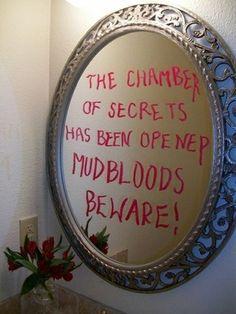 Mudbloods Beware …