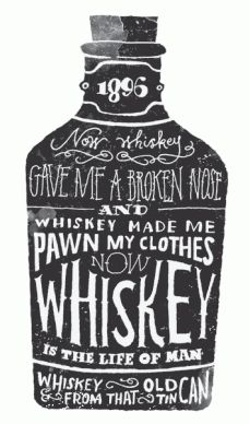 Whiskey, Whiskey, Whiskey.