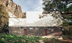 Casa Meztitla pays homage to nearby Aztec temple with volcanic walls.