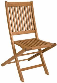 Foto principal de Leve e Prática Cadeira Dobrável Madeira Ipanema