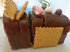 Μωσαικό το διαφορετικό σοκολατένιο με Θεική γεύση !!! ~ ΜΑΓΕΙΡΙΚΗ ΚΑΙ ΣΥΝΤΑΓΕΣ Greek Desserts, Nutella, Sweet Recipes, Food And Drink, Cooking Recipes, Pudding, Sweets, Cookies, Cake