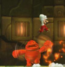 New Super Mario Bros U | Fire Boom Boom