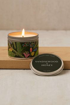 Shop Artist Print Tin Candle at Urban Outfitters today. We carry all the latest styles, colors and brands for you to choose from right here. Tin Candles, Soy Wax Candles, Scented Candles, Candle Jars, Candle Maker, Candle Packaging, Candle Labels, Lemon Coconut, Sweet Violets