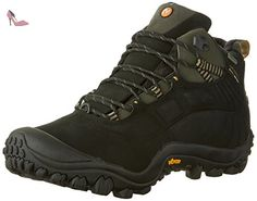 Merrell - Cham Thermo 6 WTPF/Charcoal - Bottine - Homme - Noir - 45 EU - Chaussures merrell (*Partner-Link)