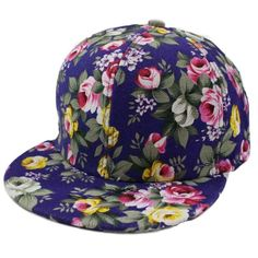 Sport Cap, HP95(TM) Rose Flower Hip-Hop Baseball Cap Outdoors Flat Snapback Hat (Blue) -- More info could be found at the image url. (Amazon affiliate link)