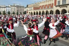 """""""The Krakowiak is a fast, syncopated Polish dance in duple time from the region of Krakow and Little Poland. This dance is known to imitate ..."""
