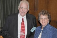 Fred Elser, Coordinator of the Greenwich Learning Center, receives Chairman's Award presented by Assistant Secretary Kathy Greenlee