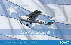 Saludamos a la Perla del Pacífico por sus 480 años de fundación  ! Que #VivaGuayaquil !