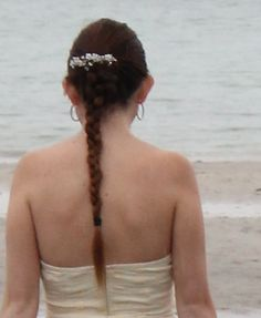 My hairstyle on a friendsphotoshoot #me #hair #hairstyle #pretty #brunette #braid #clip
