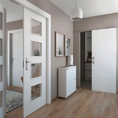 Trendy Home Interior Doors Cabinets Ideas Minimal Bedroom Design, Home Improvement Catalog, Small Guest Rooms, Home Office Cabinets, Home Styles Exterior, Home Bar Designs, Guest Room Office, Trendy Home, Home Office Design