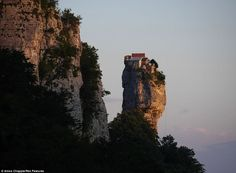 The Katskhi Pillar was used by stylites, Christians who lived atop pillars and eschewed worldly temptation, until the 15th century when the ...
