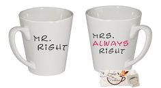 Pareja mugs Mr right