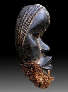Africa Art, West Africa, Totems, Tragedy Mask, Art Africain, Norse Projects, Black Artwork, Masks Art, African Masks
