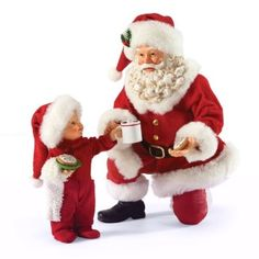 POSSIBLE-DREAMS-Clothtique-Santa-Child-Cookies-4027085-SWEET-TRADITION