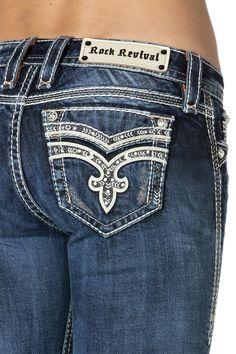 dc2c23e3574a 7 Best Rock Revival Jeans images