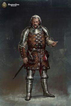 m Ranger Royal Constable hilvl Med Armor Sword ArtStation - Kingdom Come: Sir Robard, Roman Mindek Fantasy Male, Fantasy Armor, Dark Fantasy, Fantasy Character Design, Character Inspiration, Character Art, Medieval Armor, Medieval Fantasy, Dnd Characters
