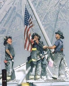 Firefighters on 9-11