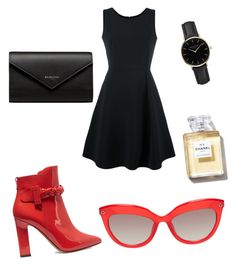 """""""Untitled #71"""" by explorer-14658124696 on Polyvore featuring Emporio Armani, Valentino, Balenciaga and ROSEFIELD"""