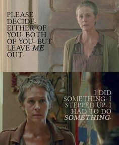 TWD - Carol's character development - The Walking Dead Walking Dead Tv Show, Walking Dead Series, Fear The Walking Dead, Top Tv Shows, Melissa Mcbride, Dead Inside, Stuff And Thangs, Daryl Dixon, Best Shows Ever