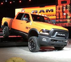 Thank you to @RamTrucks for giving me this opportunity to reveal to you LIVE the New 2017 Ram 2500 Power Wagon at #CAS16! #RamPowerWagon #GutsGloryRam