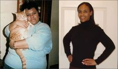RAW VEGAN BEFORE & AFTERGINA HOUSTON. Read the inteview with Gina Houston in the book Beautiful On Raw. Gina at 23 and 35.