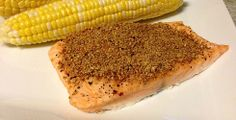 Flaxseed-Crusted Salmon