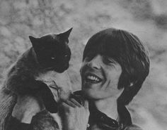 Seriously. Just give me my old music and a cat and I don't need anything else. This is my perfect photo.