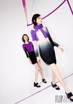 Sonia by Sonia Rykiel - Prêt-à-porter - Pre-Outono 2014 - http://pt.flip-zone.com/fashion/ready-to-wear/fashion-houses-42/sonia-by-sonia-rykiel-4491