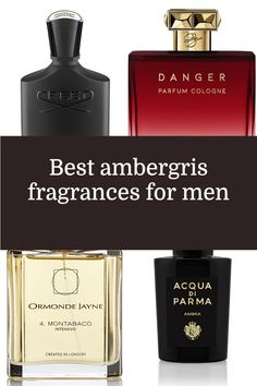 We break down where ambergris comes from, what it smells like and which scents showcase it best Best Fragrance For Men, Best Fragrances, Men's Grooming, The Body Shop, Fashion Suits, Mens Fashion, Perfume Bottles, Pure Products, Cologne