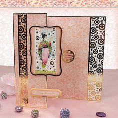Card made using the Eastern Elegance Luxury Topper Set from the Oriental Bloom Collection by Hunkydory Crafts http://www.hunkydorycrafts.co.uk/papercraft/hunkydory-collections/oriental-bloom/eastern-elegance-luxury-topper-set-bloom906.html