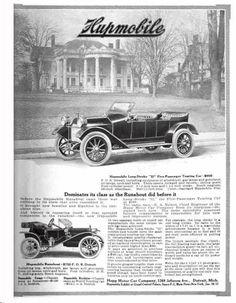 1912 Hupmobile Automobile Advertisement