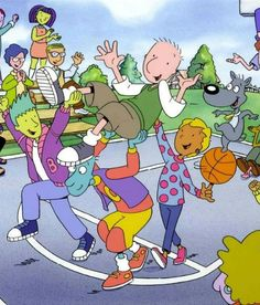 Remember when life was easy? When our most pressing challenge was making sure to get our homework done in time to catch the latest episode of Pete & Pete and Rugrats on Nickelodeon? Doug Cartoon, Cartoon Cartoon, Cartoon Shows, Cartoon Characters, 90s Childhood, My Childhood Memories, Rugrats, Doug Funnie, 90s Tv Shows