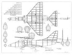 Douglas A4 Skyhawk - plan thumbnail image
