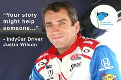 Dyslexia | Justin Wilson, IndyCar race driver and dyslexia advocate, sadly passed away today when struck by debris from rookie driver. #dyslexicadv