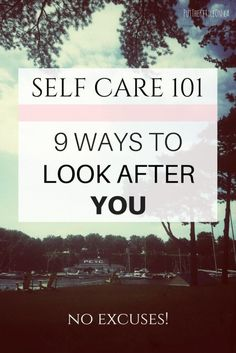 Look after yourself