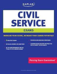 Kaplan civil service exams.