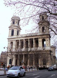 Eglise St Sulpice, Paris by AieshaB, via Flickr