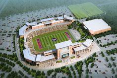 Allen Eagle Stadium in Allen, Texas