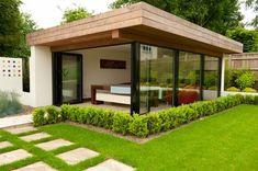 Modern Landscape Design, Modern Landscaping, Backyard Landscaping, Hydrangea Landscaping, Farmhouse Landscaping, Landscaping Design, Outdoor Rooms, Outdoor Gardens, Outdoor Living