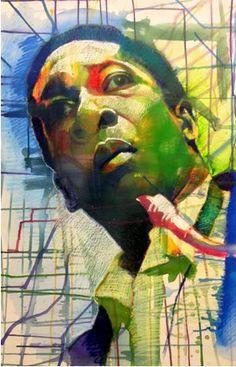 John Coltrane by Ernest Shaw