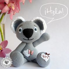 Koala Crochet Amigurumi {link to pattern in comments}  #pattern #crochet #mariamartinezamigurumi