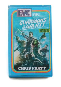 And finally, Guardians Of The Galaxy. | This Guy Mocked Up Perfect VHS Cover Art For Modern TV Shows And Movies