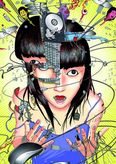 Art from Shintaro Kago.