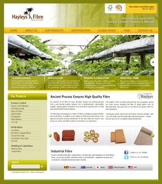 Hayleys Fibre Products - Portal done by eDesigners ! Erosion Control, Coir, Horticulture, Portal, Eco Friendly, Fiber, Products, Vegetable Gardening, Beauty Products