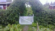 Gates summer 2014 Garden Cottage, Summer 2014, Garden Bridge, Gates, Colonial, Outdoor Structures, Mom, Plants, Plant