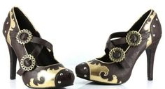 A blog post on retro shoes from Gail Carriger (read her books!)