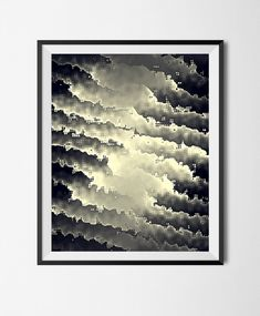 Download Printable Art, Abstract Texture  Poster, Monochromatic Wavy File,Chaos,Fantasy,Illusion, Digital Art,Graphic Manipulated Print, by STRNART on Etsy The Computer, Art File, Abstract Print, Beautiful Artwork, Graphic Design Inspiration, Landscape Art, As You Like, Digital Photography, Graphic Prints